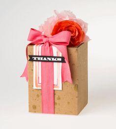 Stampin' Up! thanks-gift-box