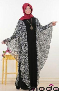 Muslim party dress ... ♡ ,  #dress #muslim #party Abaya Mode, Mode Hijab, Abaya Designs, Batik Dress, Caftan Dress, Islamic Fashion, Muslim Fashion, African Fashion Dresses, African Dress