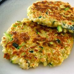 no longer a grim girl: Zucchini Patties with Health One Meal Replacement- Great Recipe! from Mary. Veggie Recipes, Cooking Recipes, Healthy Recipes, Meal Recipes, Healthy Options, Healthy Foods, Healthy Diet Plans, Healthy Eating, Zucchini Patties