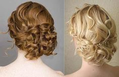 love the curls but should be in a slightly more structured bun for the veil