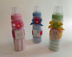 Washcloth Baby Bottle  Unique Baby Shower Gifts and by BabyBinkz