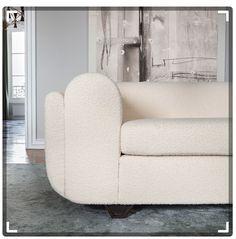 Eileen Sofa - The Invisible Collection Sofa Design, Furniture Design, Diy Sofa, Pierre Frey, Cushions On Sofa, Sofa Chair, Armchair, Couch, Sofas