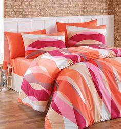 Bavlnené obliečky - FISH ORANGE Comforters, Fish, Blanket, Orange, Bed, Home, Creature Comforts, Quilts, Stream Bed