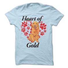 GOLDEN RETRIEVER - HEART OF GOLD