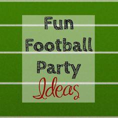 Fun Football Party Ideas
