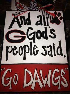 Who let the Dawgs out? Georgia Bulldogs Football, Sec Football, Georgia Girls, Georgia On My Mind, Sick, University Of Georgia, Down South, God, Sayings