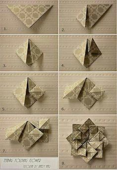 6 Beautiful Origami Decoration Tutorials
