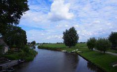 De Lauwers in Gerkesklooster. Friesland The Netherlands
