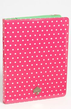 kate spade new york 'dots and spades' iPad folio