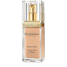 Elizabeth Arden Flawless Finish Perfectly Nude Makeup Broad Spectrum... (€35) ❤ liked on Polyvore featuring beauty products, makeup, face makeup, foundation, buff, elizabeth arden, sunscreen foundation, spf foundation and elizabeth arden foundation