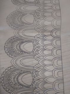 Indian Embroidery Designs, Hand Embroidery Design Patterns, Hand Embroidery Projects, Couture Embroidery, Embroidery Motifs, Doodle Patterns, Machine Embroidery Designs, Islamic Art Pattern, Pattern Art