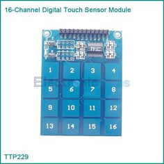 TTP229 16 Channel Digital Capacitive Switch Touch Sensor Module For Arduino   	 	1. 16-key board TTP229 capacitive touch sensor IC 2. onboard power indicator 3. working voltage: 2.4V-5.5V 4. the module can be set to output mode, the key output mode, the longest time and fast output / low power options 5. ...    US $1.75  http://insanedeals4u.com/products/ttp229-16-channel-digital-capacitive-switch-touch-sensor-module-for-arduino/  #shopaholic #dailydeals