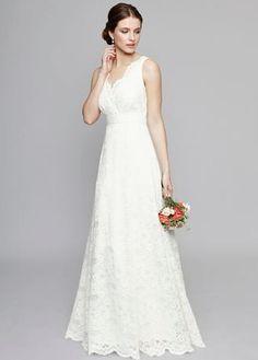Ben de lisi strapless wedding dress