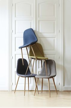 New Interior Collection. Chair with fabric seat. Comes in 4 colors. Available in stores from 17 March 2016. #grenehome See all the news: www.sostrenegrene.com