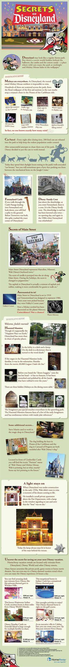 disneyland secrets | Family Vacation Ideas
