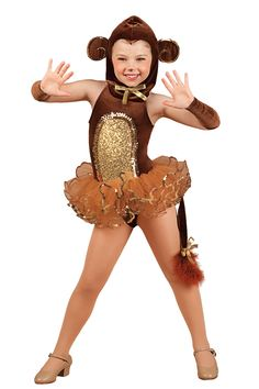 Novelty Dance Costumes | Dansco | Dance Fashion 2014 2015 | Pinterest Keywords: Monkey Wizard of Oz | Costume Name: Monkey Around 15547