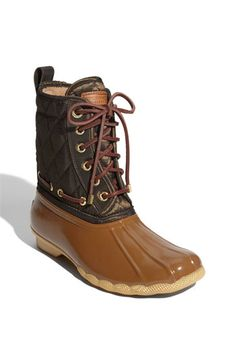 Love them! Too bad I already have bean boots