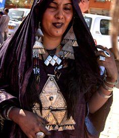**Berber woman. Africa