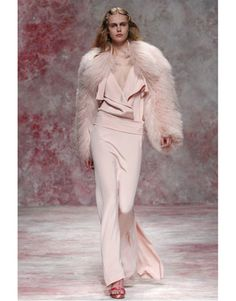 Fall 2011 Fur and Pale Pink