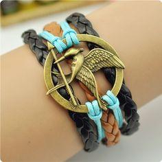 Náramek Hunger Games - Katniss Everdeen Hunger Games Mockingjay, Katniss Everdeen, Bracelets, Shopping, Jewelry, Euro, Boutique, The Hunger Games, Daughter