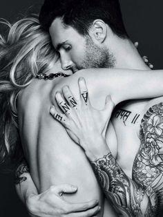 Adam Levine and ex-girlfriend Anne Vyalitsyna