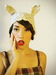 'White Rabbit' critter cloche by Horribly Eclectic