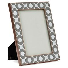 Check out this item at One Kings Lane! Paprika Metal Frame, 5x7, Silver