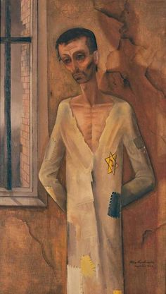 felix nussbaum | Felix Nussbaum, Jew at the Window, 1943