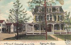 D3278-NY-Ravena-Vincent-House-Postcard