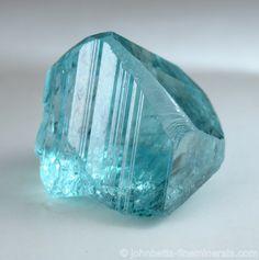 Gem Grade Blue Euclase from Gachalá Mine, Guavió-Guatequé Mining District, Colombia
