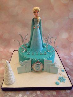 Gâteaux reine des neiges