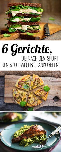 Essen nach dem Sport: Sechs schnelle Gerichte für die Traumfigur