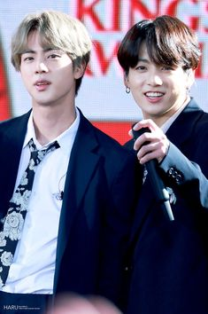 190515 Good Morning America Summer Concert☀️ with BTS😆 Seokjin, Namjoon, Taehyung, Jungkook And Jin, Jungkook Oppa, Bts And Exo, Bts Bangtan Boy, Jung Hoseok, K Pop