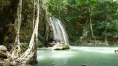 Der Erawan Nationalpark, Thailand Nationalpark