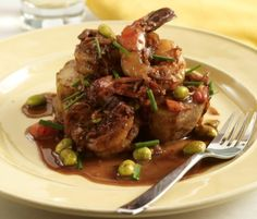 Ming Tsai's mom's famous vinegared shrimp