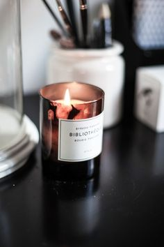 We're candle obsessed.