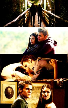 Image de the vampire diaries, tvd, and stelena
