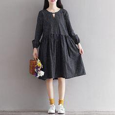 Japanese retro style dress