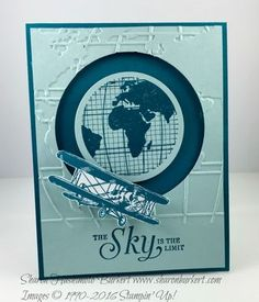 Sky is the Limit Round the World card | As The Ink Dries | Bloglovin'