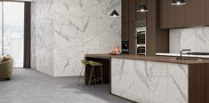600x600 Satin or Polished Rectified White Marble Calacatta Look Glazed Porcelain Tile