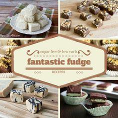 15 Sugar Free, Low Carb Fudge Recipes