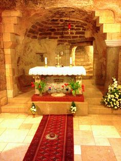 The Church of the Annunciation in Nazareth, Israel