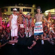 BSB dressed up for the ABC Party on BSB Cruise 2014! Nick is just too sexy!