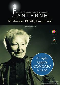 Festival Lanterne. Concerto di Fabio Concato. Piazza Fresi. 31 luglio