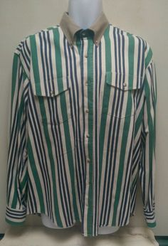 Men's long sleeve buttoned shirt by Texas Cotton Size 16 35 see photos