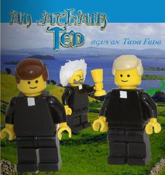 No way - Lego Father Ted in Gaelic - how can I watch this thing and do they have subtitles?