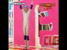 Japanese Game Show - Human Tetris