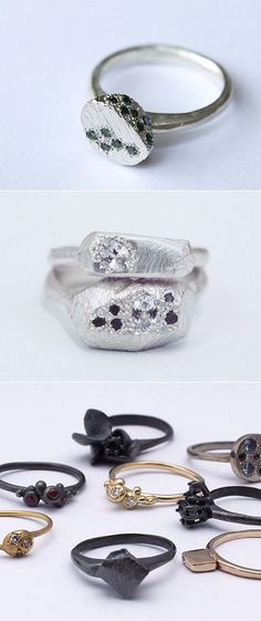 TheCarrotbox.com modern jewellery blog : obsessed with rings // feed your fingers!: Aphra Ellen