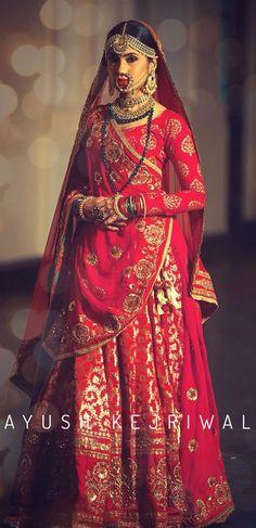 59 super ideas for indian bridal lehenga beautiful saree Indian Anarkali, Indian Bridal Lehenga, Indian Bridal Fashion, Indian Bridal Wear, Indian Wear, Shaadi Lehenga, Sabyasachi, Pakistani Bridal, Red Wedding Dresses