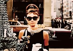 "Audrey Hepburn in ""Breakfast at Tiffany's"", (1961),"